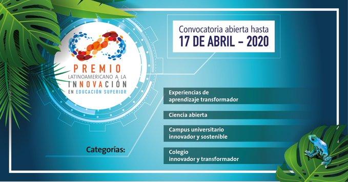 Premio Latinoamericano a la Innovación en Educación Superior