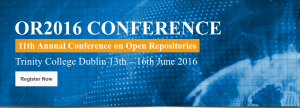 Conferencia anual Open Repositories 2016
